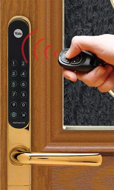 Amberwood Yale Keyfree Door Lock Keyless Door Locks